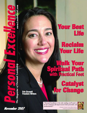 Personal Excellence Magazine Cover