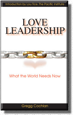 The Book Cover of Love Leadership